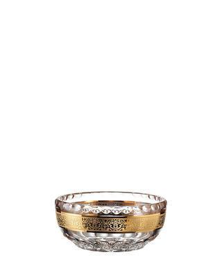 Bohemia Crystal ručně broušená miska na kompot Romantic 130mm