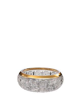 Bohemia Crystal hand cut bowl Romantic Horizont 205mm