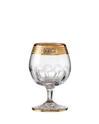 Bohemia Crystal Ručně broušené sklenice na brandy Romantic 220ml (set po 2ks)