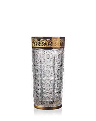 Bohemia Crystal ručně brošuené sklenice na nealko Romantic Horizont 350ml (set po 2ks)