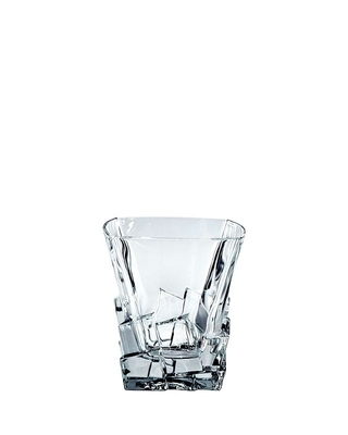 Bohemia Crystal Crack whiskey glass 310 ml
