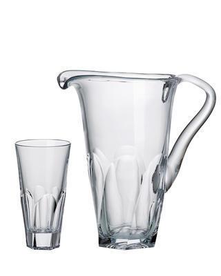 Bohemia Crystal nealko set Apollo (1 džbán + 2 sklenice na nealko)