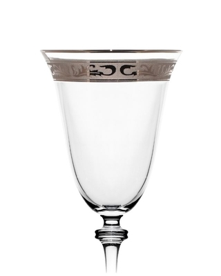 Bohemia Crystal Sklenice na víno Alexandra 250ml (set po 6ks) SLEVA-poškozená krabice - 2