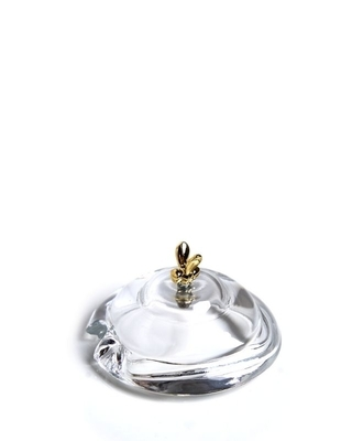 Bohemia Crystal spare lid for covered honey box Bear - 2