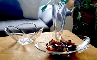 Bohemia Crystal mísa na ovoce Globus 250mm - 2