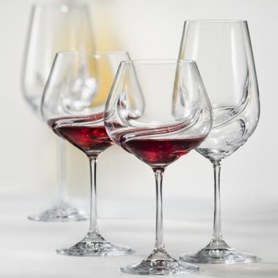 Bohemia Crystal Sklenice na červené víno Turbulence 40774/550ml (set po 2ks) - 2