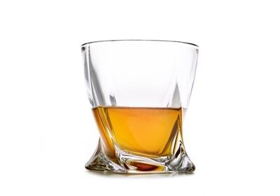 Bohemia Crystal Quadro Whiskey Tumblers 340ml (set of 6 pcs) - 3