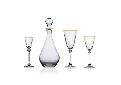 Bohemia Crystal Alexandra liqueur glass 60ml (set of 6pcs) - 3