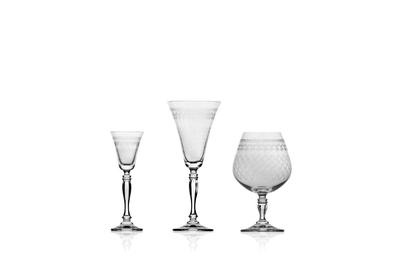 Bohemia Crystal poháre na likér Victoria 50ml (set po 6ks) - 3