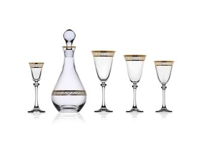Bohemia Crystal Sklenice na víno Alexandra 250ml (set po 6ks) - 3