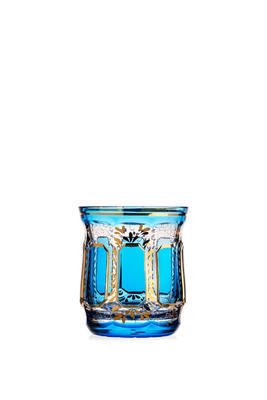 Bohemia Crystal Handmade and Hand Decorated Whiskey Tumblers 300ml (set of 6 pcs) - 3