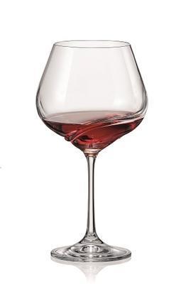 Bohemia Crystal Poháre na červené víno Turbulence 40774/570ml (set po 2ks) - 3