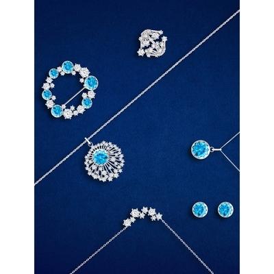 Bohemia Crystal Strieborný náhrdelník Vela s kubickou zirkoniou Preciosa 5255 00 - 3