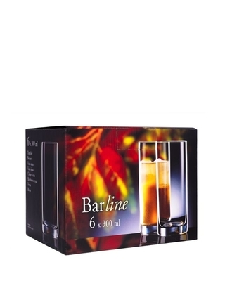 Bohemia Crystal glass for water and soft drinks Barline 300ml (set of 6pcs) - 4
