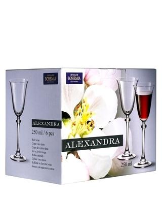 Bohemia Crystal Sklenice na víno Alexandra 250ml (set po 6ks) - 4