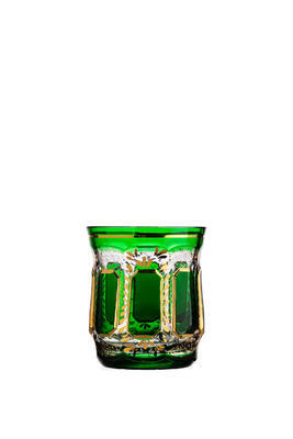 Bohemia Crystal Handmade and Hand Decorated Whiskey Tumblers 300ml (set of 6 pcs) - 4