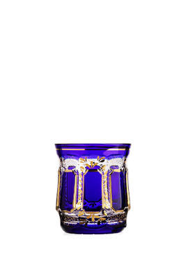 Bohemia Crystal Handmade and Hand Decorated Whiskey Tumblers 300ml (set of 6 pcs) - 5