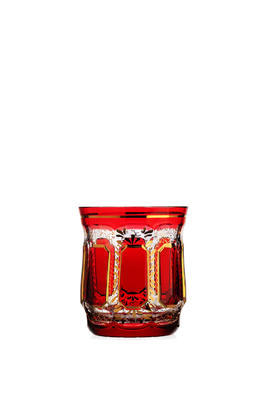 Bohemia Crystal Handmade and Hand Decorated Whiskey Tumblers 300ml (set of 6 pcs) - 6
