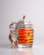 Bohemia Crystal Covered Honey Box Bear 53313/69710 / 150mm - 6/6