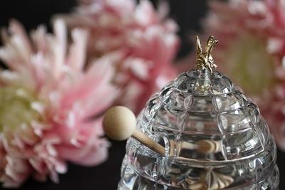 Bohemia Crystal Beehive Covered Honey Box 53312/69710 / 118mm - 6