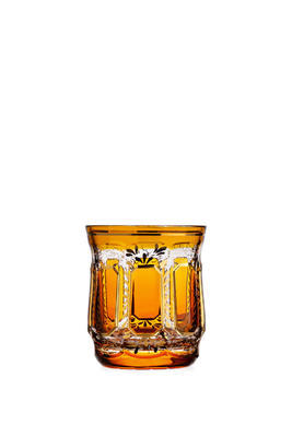 Bohemia Crystal Handmade and Hand Decorated Whiskey Tumblers 300ml (set of 6 pcs) - 7