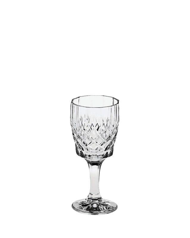 Bohemia Crystal Likörglas Angela 60 ml 6 er Set mit Gravur Royal BC